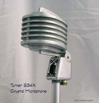 Turner microphone company